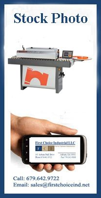 Used Edgebander - Maggi Model: System Used Woodworking Machinery, Lean Manufacturing, System Model, 50th, March, Stock Photos, Design, Design Comics, Mac