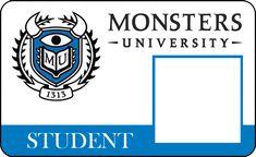 Invitaciones e Imprimibles de Monsters University para Imprimir Gratis.