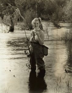 Fly fisher Bette Davis: Who knew?