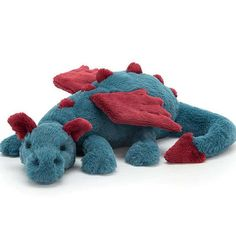 shop for quality stuffed animals baby toys and more by Jellycat Dexter, Cute Stuffed Animals, Dinosaur Stuffed Animal, Softies, Plushies, Pet Supply Stores, Jellycat, Dinosaur Toys, Arte Horror