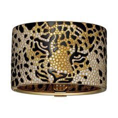 Cartier's Panthère Impériale high jewellery cuff recreates the Maison's most famous feline, brought to life in diamonds and onyx. Just cutting the onyx alone took Cartier's special team of jewellers and artisans 600 hours.