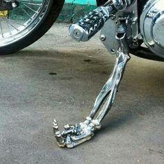 Skeleton F#%@ you kickstand