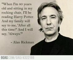 Alan Rickman <3 love love loveeeee