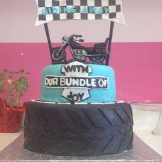 Wedding/ Baby Shower Cake. Harley Davidson Inspired Made By Rachaelu0027s  Cupcake In Roselle Nj