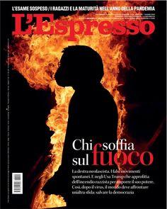 La copertina dell'Espresso in edicola e online da domenica 7 giugno Newspaper Cover, Movie Posters, Film Poster, Popcorn Posters, Film Posters, Posters