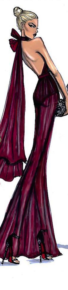 Hayden Williams Fashion Illustration   House of Beccaria~