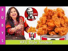 KFC Style Extra Crispy Chicken Strips or Tenders Recipe in Urdu Hindi - RKK - YouTube Crispy Chicken Tenders, Chicken Tender Recipes, Fried Chicken Recipes, Indian Food Recipes, My Recipes, Ethnic Recipes, Ramadan Recipes, Chicken Strips