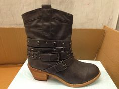 Studded multi strap boots from Maurices
