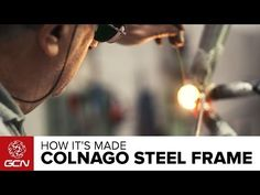 (3) How A Colnago Steel Frame Is Made - YouTube
