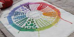 drop cloth: Color Wheel Debut......