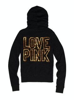 Beach Terry Zip Hoodie - Victoria's Secret Pink® - Victoria's Secret