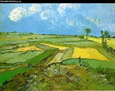 ♥ Wheat Fields at Auvers Under Clouded Sky ♥ Vincent van Gogh