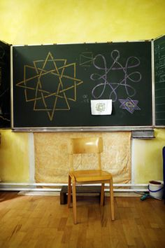 Form drawing Waldorfschule Klagenfurt