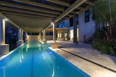 A beautiful, large, pool which offers incredible ocean views. A perfect space for entertaining.