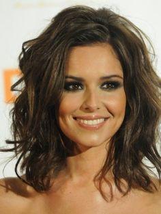Lob capelli mossi di Cheryl Cole 2014 #longbob #curlyhair #hairstyles2014