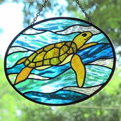 turtle stained glass | Recent Photos The Commons Getty Collection Galleries World Map App ...