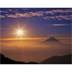 Self~Empowerment: Today's Self-Communicate – Japanese Nature, Japanese Landscape, Nature Pictures, Beautiful Pictures, Fuji Mountain, Monte Fuji, Sunset Wallpaper, Great View, Japan Travel