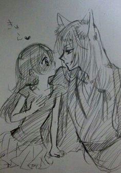 Nanami and Tomoe oh I love this sketch