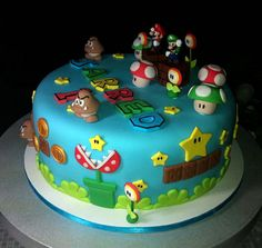 super mario cake - Google Search