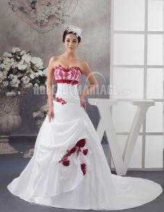 Photo de robe de mariee en couleurs