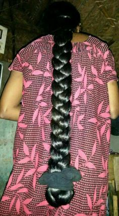 Open Hairstyles, Indian Hairstyles, Braided Hairstyles, Natural Hair Styles For Black Women, Long Hair Styles, Indian Long Hair Braid, Thick Braid, Beautiful Braids, Super Long Hair