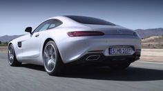 Mercedes-AMG GT V8 Engine Sound - Video Footage