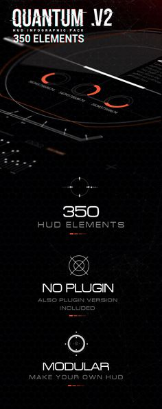 Quantum HUD Infographic - After Effects Project Files | VideoHive