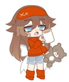 Anime Kawaii, Anime Chibi, Character Drawing, Character Design, Anime Gifs, Dibujos Cute, Cute Art Styles, Club Design, Bear Wallpaper
