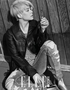 #fx #Amber for #Elle Korea