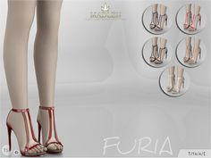 The Sims Resource: Madlen Furia Shoes by MJ95 • Sims 4 Downloads