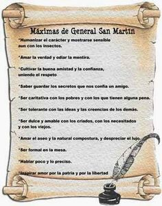 máximas de San Martín Leo, Sheet Music, Diy And Crafts, Album, Education, Reyes, Ideas, Social Environment, Happy