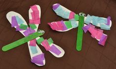 Insect Crafts - Dragonflies