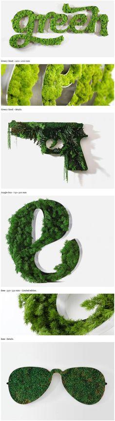 Vegetal Identity brainchild of decoration for your walls.