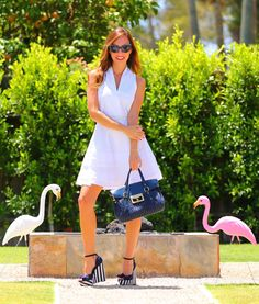The White Dress, head-to-toe white, how to wear all white, spring outfits