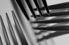 Modernes bildnerisches Stillleben  Mehr auf meiner Website  # # #pfsö #stilllife #stillleben #gabel #fork #modern #abstract #blackandwhite #photography