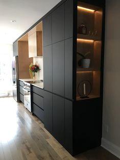 Modern Kitchen Interiors, Luxury Kitchen Design, Kitchen Room Design, Modern Kitchen Cabinets, Home Room Design, Kitchen Cabinet Design, Luxury Kitchens, Interior Design Kitchen, Home Kitchens