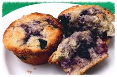 Blueberry Muffins Homemade from Scratch