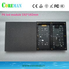 P6 led-modul 192x192 indoor-led-display-modul 32x32 rgb p6 outdoor-led-bildschirm p1.2p2video wand led-bildschirm