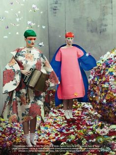 """""""collections"""" Vogue Italia July 2012 by Steven Meisel"""