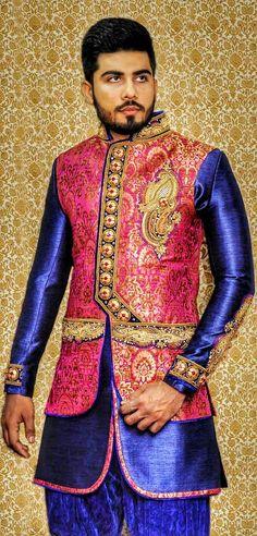 Sherwani For Men Wedding, Wedding Dresses Men Indian, Mens Sherwani, Indian Wedding Bride, Wedding Dress Men, Wedding Men, Wedding Suits, Mens Hottest Fashion, Mens Fashion