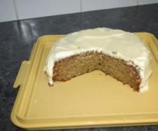 Recipe Banana Cake with Cream Cheese Icing - Recipe of category Baking - sweet Thermomix Desserts, No Bake Desserts, Delicious Desserts, Sweet Recipes, Cake Recipes, Dessert Recipes, Yummy Recipes, Cream Cheese Icing, Cake With Cream Cheese