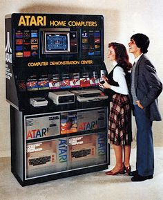 I remember when Sears had one of these.  Atari home computers!