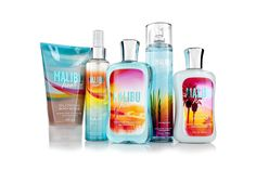 Malibu Heat Collection at Bath and Body Works :) Summer Night Scent