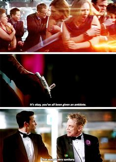 """""""That wasn't very sanitary"""" - Barry and The Trickster #TheFlash"""