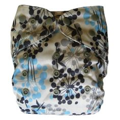 Reusable Waterproof PUL Cloth Diaper Cover One-size 8-35 Lbs (Bloom) :: ecoAble Online Shop $6