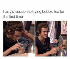 Same, Harry, same. I don't like tea as well Harry Styles Memes, Harry Styles Cute, Harry Styles Imagines, Harry Styles Pictures, Harry Edward Styles, One Direction Harry, One Direction Videos, One Direction Humor, One Direction Pictures