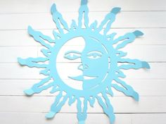 Metal Sun Wall Hanging / Wall Decor / Outdoor by ReformedMetals, $32.00