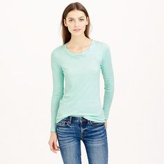 J.Crew - Tissue long-sleeve tee