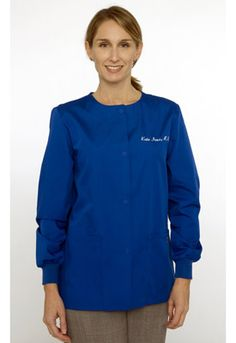 Blue Scrubs #lab_jackets #medical_uniforms #lab_coats