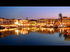 Crete - An evening in Rethymno by MarcelGermain, via Flickr